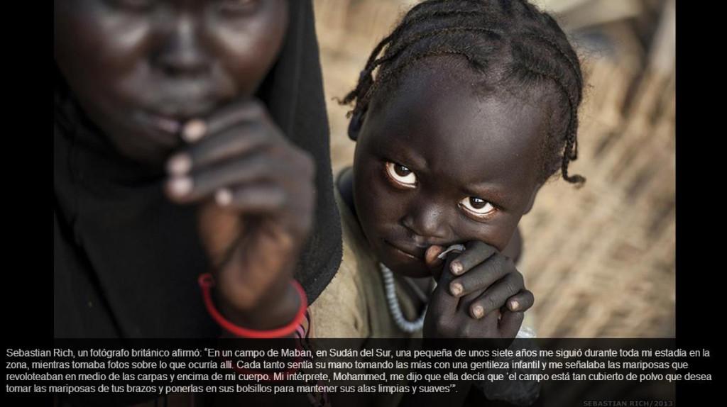 Niña Sudán del Sur